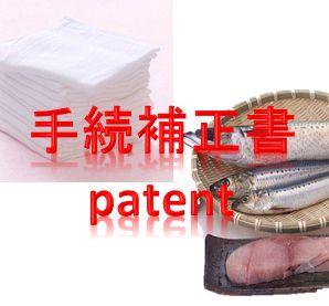 手続補正書 特許